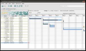 ganttproject project scheduling resource management software pc
