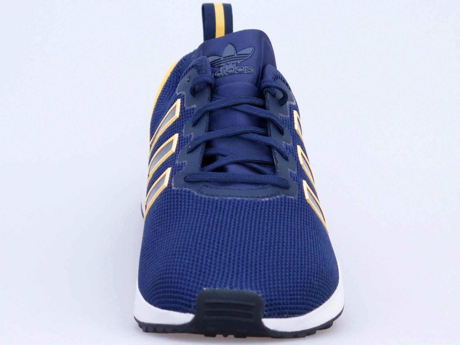 Adidas Originals Trainers ZX Flux ADV Men's Trainers Originals Navy / Solar Gold Shoes AQ2753 c841b9