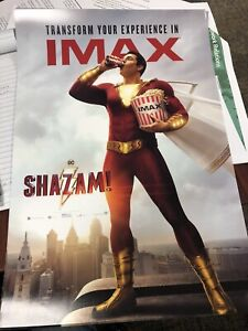 SHAZAM 22x34 DC COMICS 17471 BOLT MOVIE POSTER