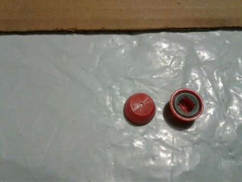 Vintage Caps for Trike Tricycle Pedal Tractor Axle Red 3//8 Inch Pedal Car