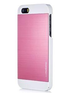 buy popular 456da deff8 Details about iPhone 5C Case, MOTOMO [Pink] iPhone 5C Case Aluminum