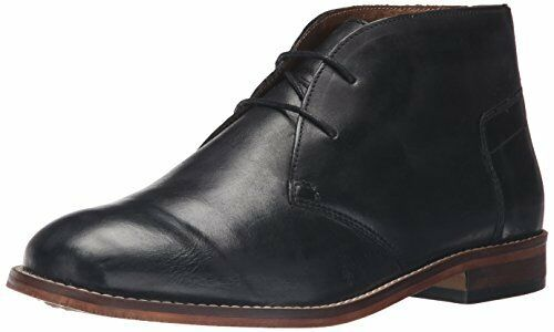 H by Hudson Men's SOMA Chukka Boot, Calf Black, 11 M US