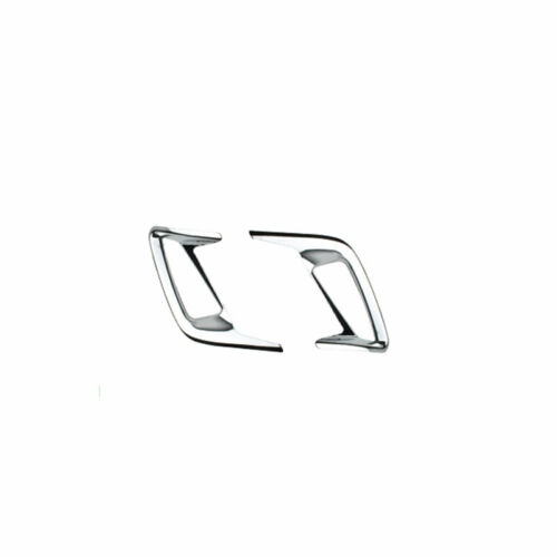 ABS Chrome Rear Foglight Lamp Frame Trim 2pcs For 2019-2020 Ford Focus Sedan