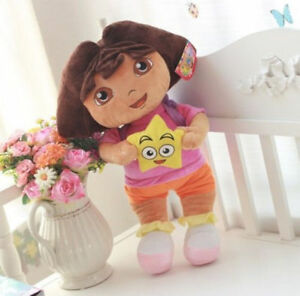New-DORA-THE-EXPLORER-Kids-Girls-Soft-Cuddly-Stuffed-Plush-Toy-Doll-Free-shippin
