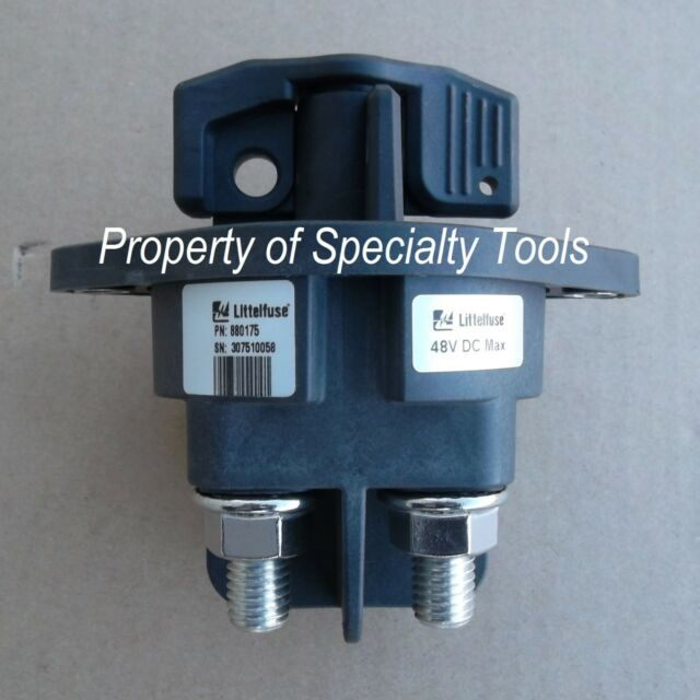 Littelfuse 880175 500a Two Pole Battery Disconnect Switch Winch ...