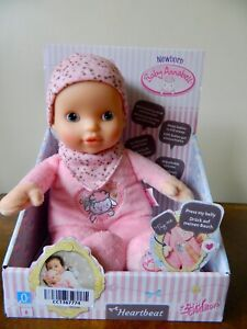 Baby Annabell Heartbeat For Babies Soft 30cm Baby Doll ...