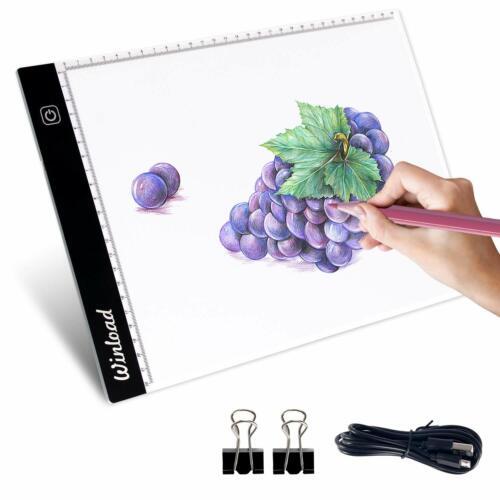 Winload Tablette Lumineuse A4 Led 35mm Mince Luminosité Réglable Led Copie Pa...