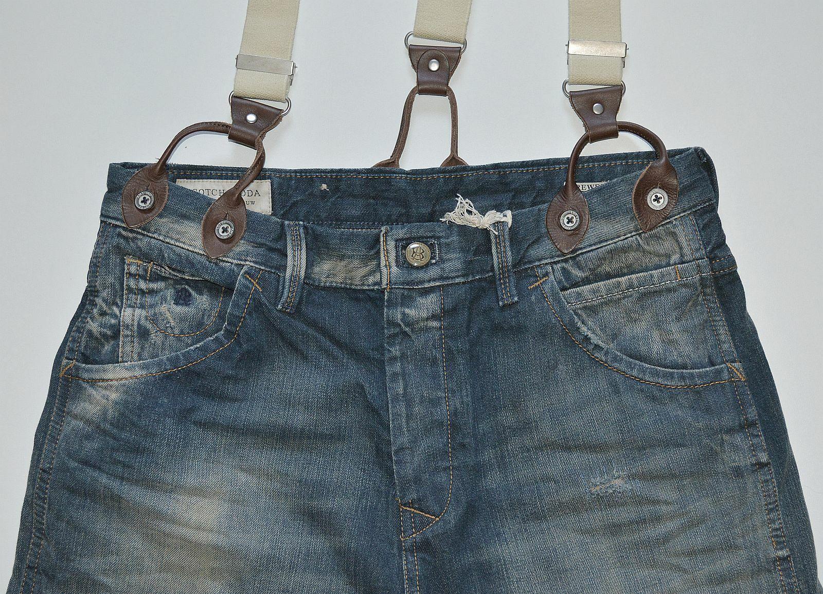 Scotch & Soda Brewer 1306-07.85077 Antifit Herren Jeans Jeans Jeans Hosen sale 48101400 478eca