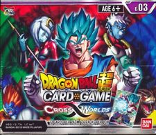Brand New And Se Booster Box 3 Cross Worlds DragonBall Super Card Game