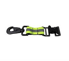 Glove Strap Firefighter Work Holder Alligator Clip Green Heavy Duty Green Kit