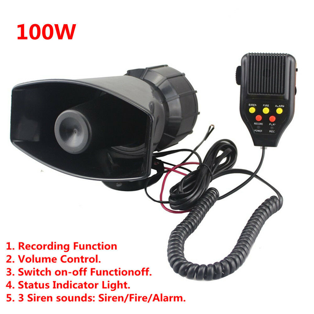 Alarm Sound With Control Switch
