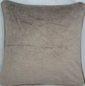 10-2X45-7cm-Coussins-Et-Rembourrages-En-Villandry-Truffe-Tissu-Velours