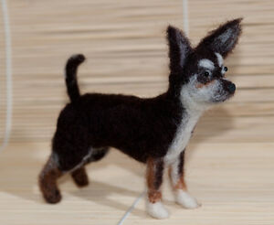 Needle-Felted-Chihuahua-One-Of-A-Kind-Hand-Made