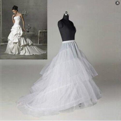 RULTA 2020 New 4 Styles Plus SizeWhite Wedding Gown Petticoat Slip Underskirt O1
