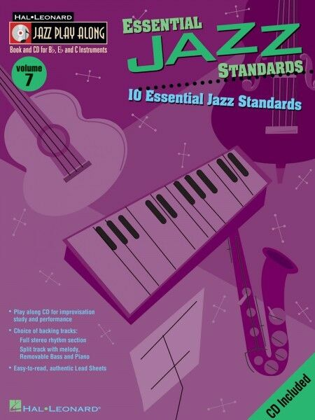 Bill Evans Standards Jazz Play Along Book and CD NEW 000843156