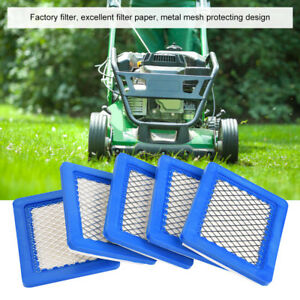10PCS Air Filter Lawn Mower Filters for Briggs Stratton 491588 491588S 399959