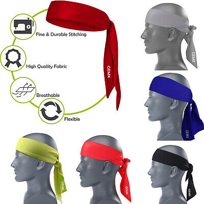 Men Women Sports Headbands Sweatbands Yoga Gym Running Stretch Yoga Hair Bands Top Wassermelonen