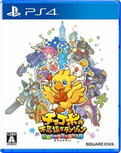Chocobo-s-Mystery-Dungeon-Every-Buddy-Everybody-Play-Station-4-PS4-with-Tracking