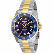 Invicta мужские часы кварцевые Pro Diver синий циферблат два тона браслет 30692