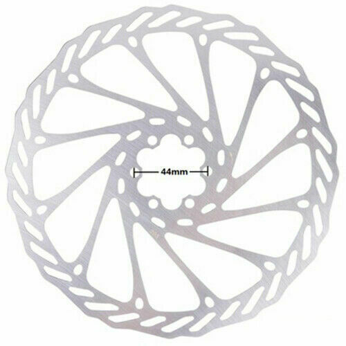 UK Bicycle 160mm,180mm,203mm Rotor MTB Bike Disc Brake Rotor For 6 Bolts Steel