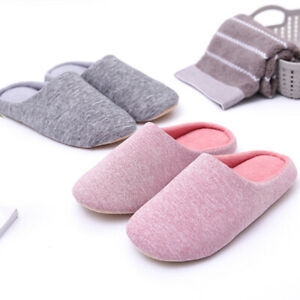 Unisex-Women-Men-Winter-Warm-Soft-Home-Indoor-House-Fleece-Slippers-Shoes