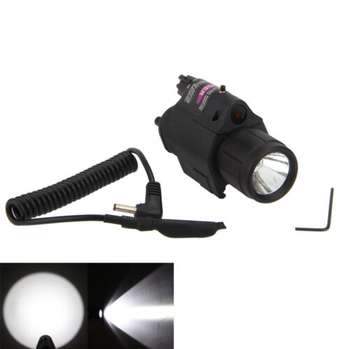 Green//RED Laser Sight Scope Picatinny Mount Combo LED Tactical Flashlight