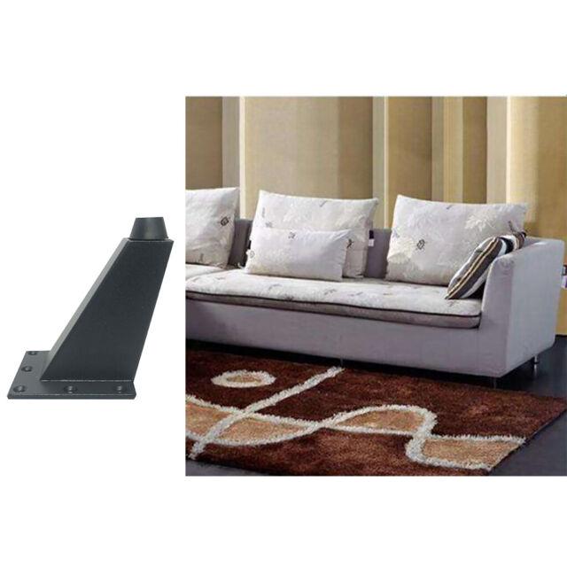 Universal Furniture Sofa Leg Chair Table Desk Couch Feet Aluminum Alloy 2 Colors