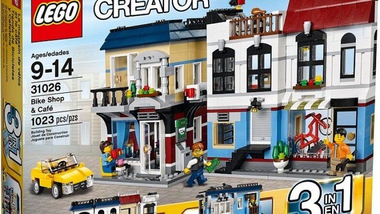 LEGO CREATOR BIKE SHOP & CAFE SET 31026 NEW FACTORY SEALED RETIROT NISB