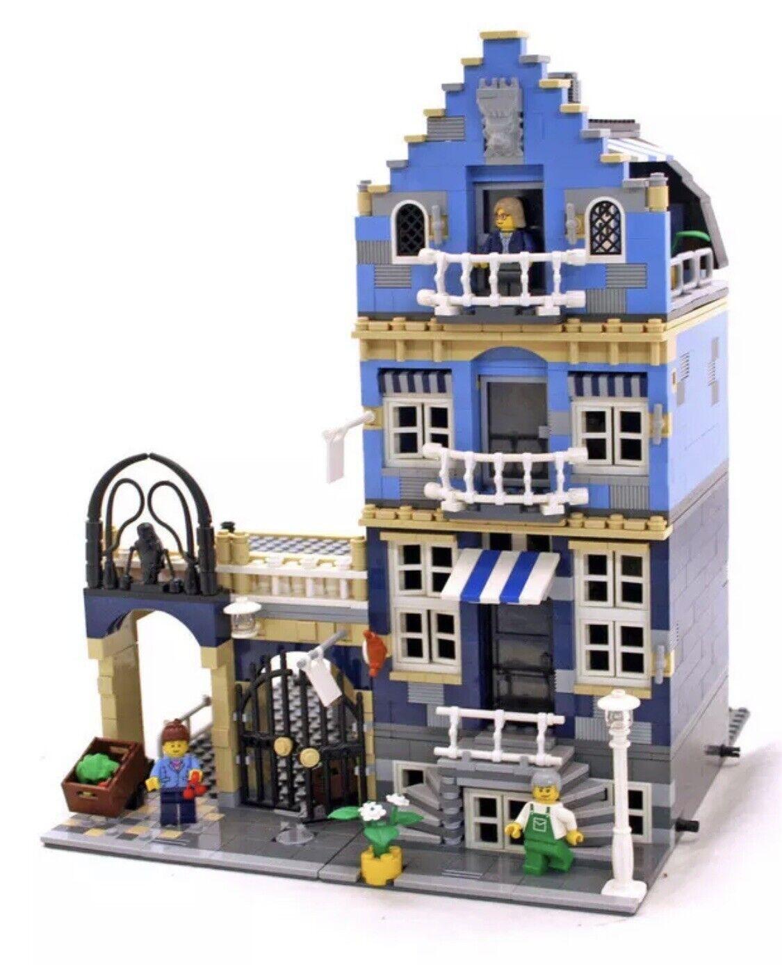 LEGO 10190 MARKET STREET 10190  MODULAR SERIES VHTF Complete w original Manual