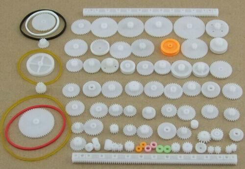 75 gears of plastic package motor gear lackage robot accessories tech DIY K014