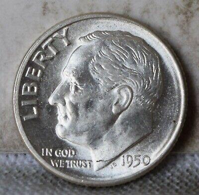"""1955-D Roosevelt Dime /""""Gem BU/"""" *Free S//H After 1st Item*"""