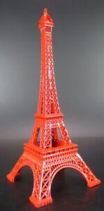 Reiseaccessoires Eiffelturm Tour Eiffel Rot Paris Frankreich,25 Cm Metall Souvenir Reise Modell SchnäPpchenverkauf Zum Jahresende