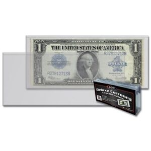 X25 BCW 3 Pockets Pages Banknotes Postcards Currency Album Stamp Binder Free USA