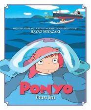 Ponyo Picture Book, Vol. 1 by Hayao Miyazaki (2009, Hardcover)