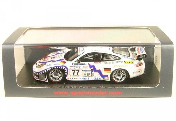 Porsche 911 gt3 rs no. 77 7th LeMans 2001 (R. Dumas-G. JEANNETTE-P. haezebrou