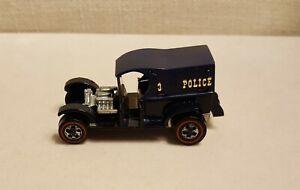 VINTAGE-HOT-WHEELS-REDLINE-Police-Paddy-Wagon-c1969-clean