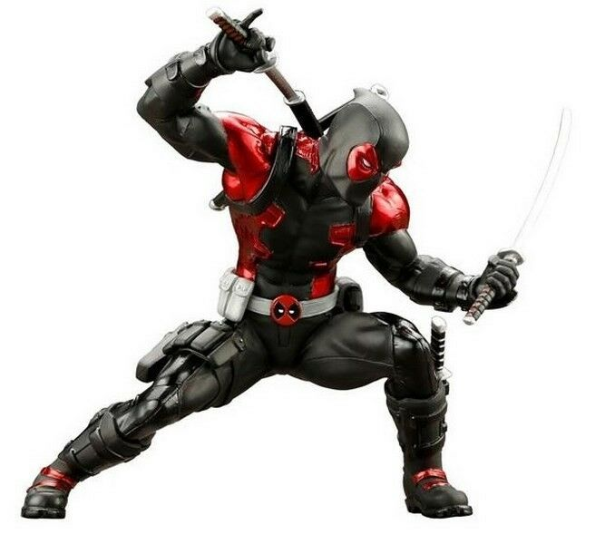 1   10 scale marvel für deadpool artfx + statue limited edition