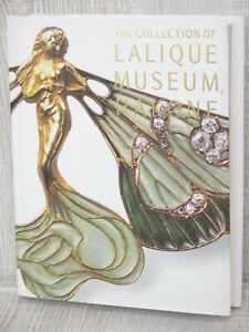 The-Collection-of-RENE-LALIQUE-Museum-Art-Photo-Book-Antique-Vtg-Jewelry