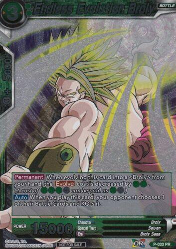 Promo Cards DragonBall Super TCG Foil