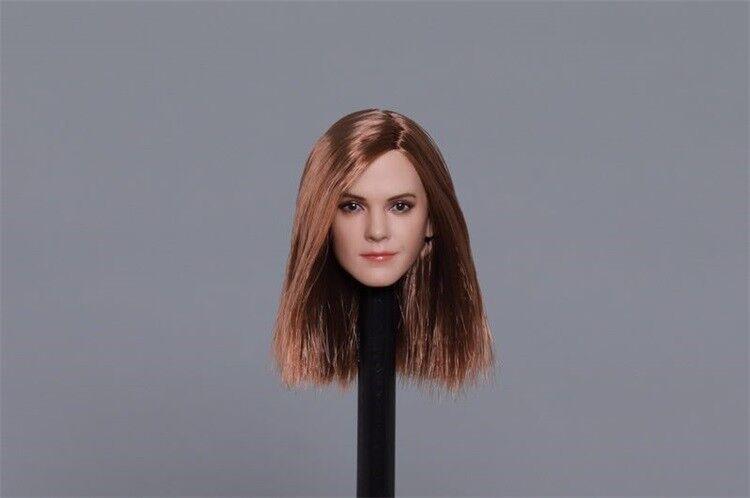 1 6 Emma Watson Star Star Star Head Sculpt Carving Model F 12  Female Figure Body Toys 251639