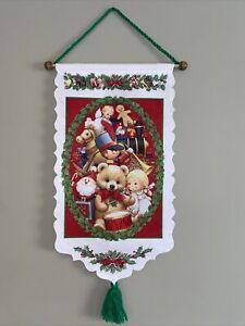 Vintage-Ruth-Morehead-Christmas-Felt-Banner-Christmas-Toys-Felt-Yarn-26