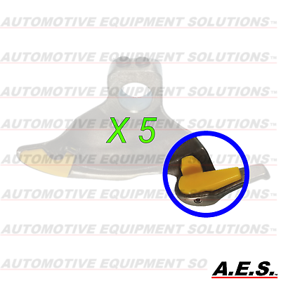 Plastic Insert for Mount Demount Head Tire Changer Nylon Insert Rim Protector Ewandor Tire Machine Part Protective Tail for Duck Head- Guard Accessory for Wheel Tyre Repair Tool 03YKM, 3 Pairs