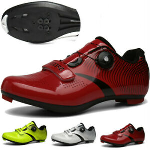 Professional Athletic Cycling Shoes Men's Bike Bicycle Sneakers Spd Cleats Boots