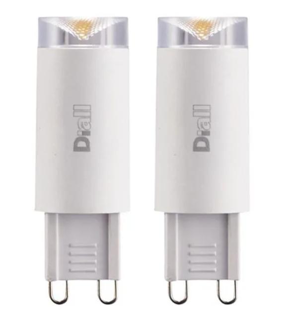 Uk 300lumen Capsule Bulbs 240v Diall 3 2w G9 Led Warm 2x AEco Light White 28w 54AqcR3LjS