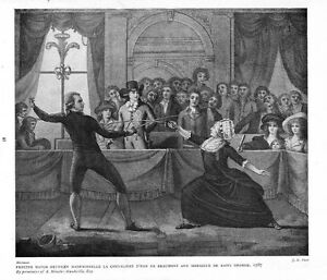 FENCING MATCH BETWEEN MADEMOISELLE LA CHEVALIERE AND MONSIEUR SAINT GEORGE SWORD
