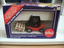 Siku Gabelstapler Fork Lift Truck Linde in Red/Black in Box (Siku nr: 1717)