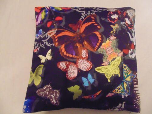 Designers Guild 100 Baumwollstoff Schmetterling Parade Oscuro Kissenbezug