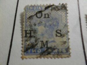 Magasiner Pour Pas Cher Inde Anglaise, Timbre De Service 32 Oblitéré, Vf Used Stamp