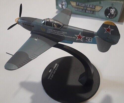SERGEJ LUGANSKI 1944 JAKOWLEW JAK-3 Atlas FIGHTERS OF IIWW 1//72