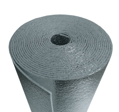 "24/""x25/' USEP Reflective Insulation Roll Foam Core Radiant Barrier 5MM AD5 R8"